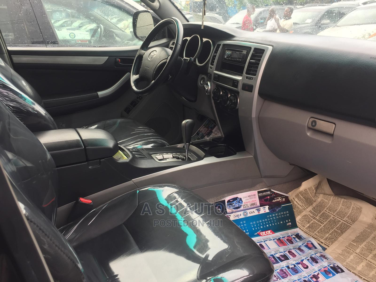 Toyota 4-Runner 2005 Limited V6 4x4 Black | Cars for sale in Amuwo-Odofin, Lagos State, Nigeria