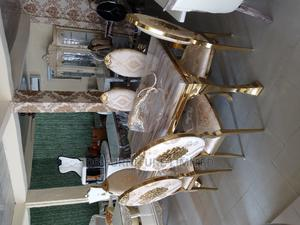Executive Marble Dinning Table With 6 Chairs | Furniture for sale in Lagos State, Magodo