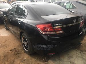 Honda Civic 2013 HF Sedan LX Black   Cars for sale in Lagos State, Isolo