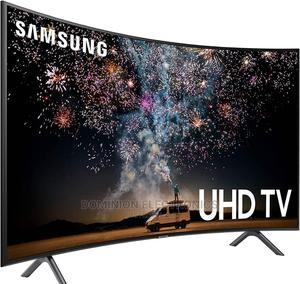 "Samsung Curved UHD TV 4K (RU7300) Smart Netflix App 55""Inch | TV & DVD Equipment for sale in Lagos State, Ojo"