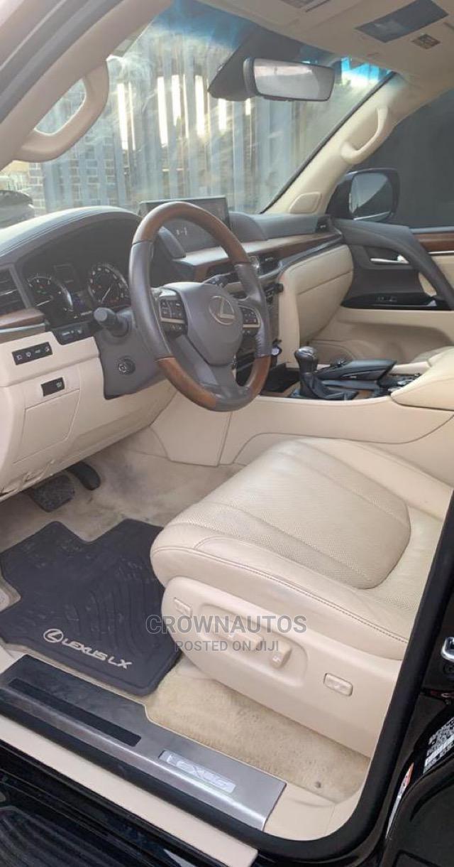 Lexus LX 2018 570 Three-Row Black | Cars for sale in Ikeja, Lagos State, Nigeria