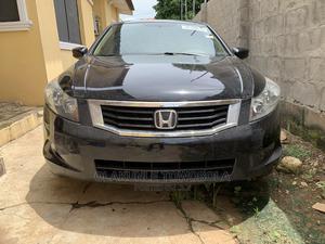 Honda Accord 2008 Black | Cars for sale in Lagos State, Ejigbo