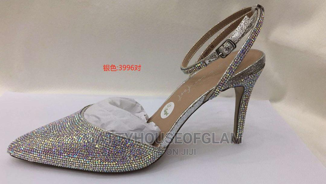 Silver High Heels   Shoes for sale in Lekki, Lagos State, Nigeria