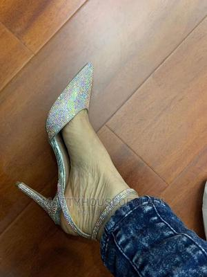 Silver High Heels   Shoes for sale in Lagos State, Lekki