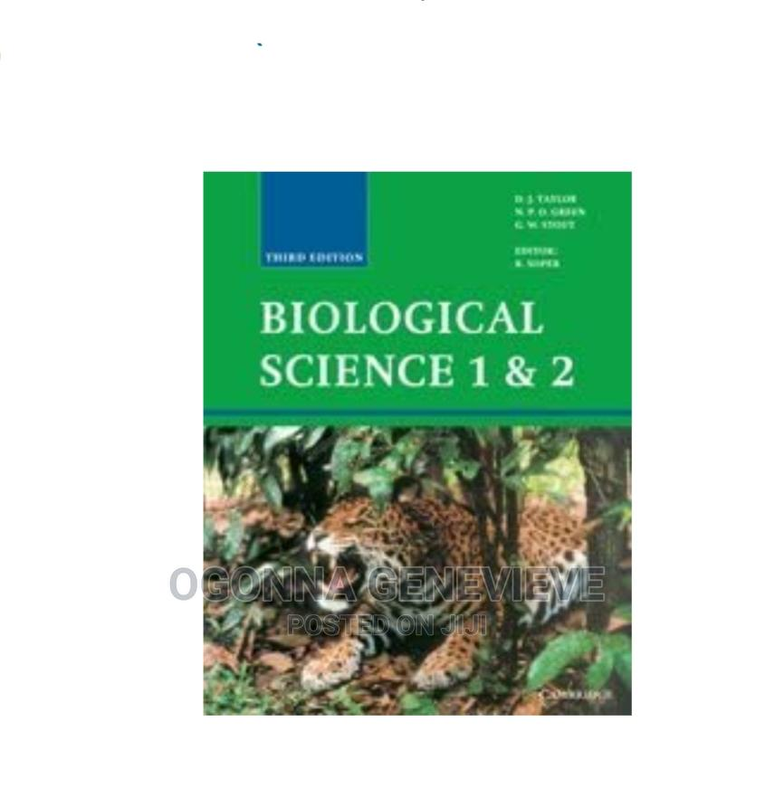 BIOLOGICAL SCIENCE 1 2 Third Edition by Taylor