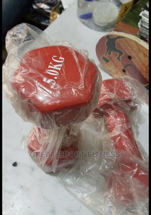 5kg Aerobic Dumbbell | Sports Equipment for sale in Lagos State, Victoria Island