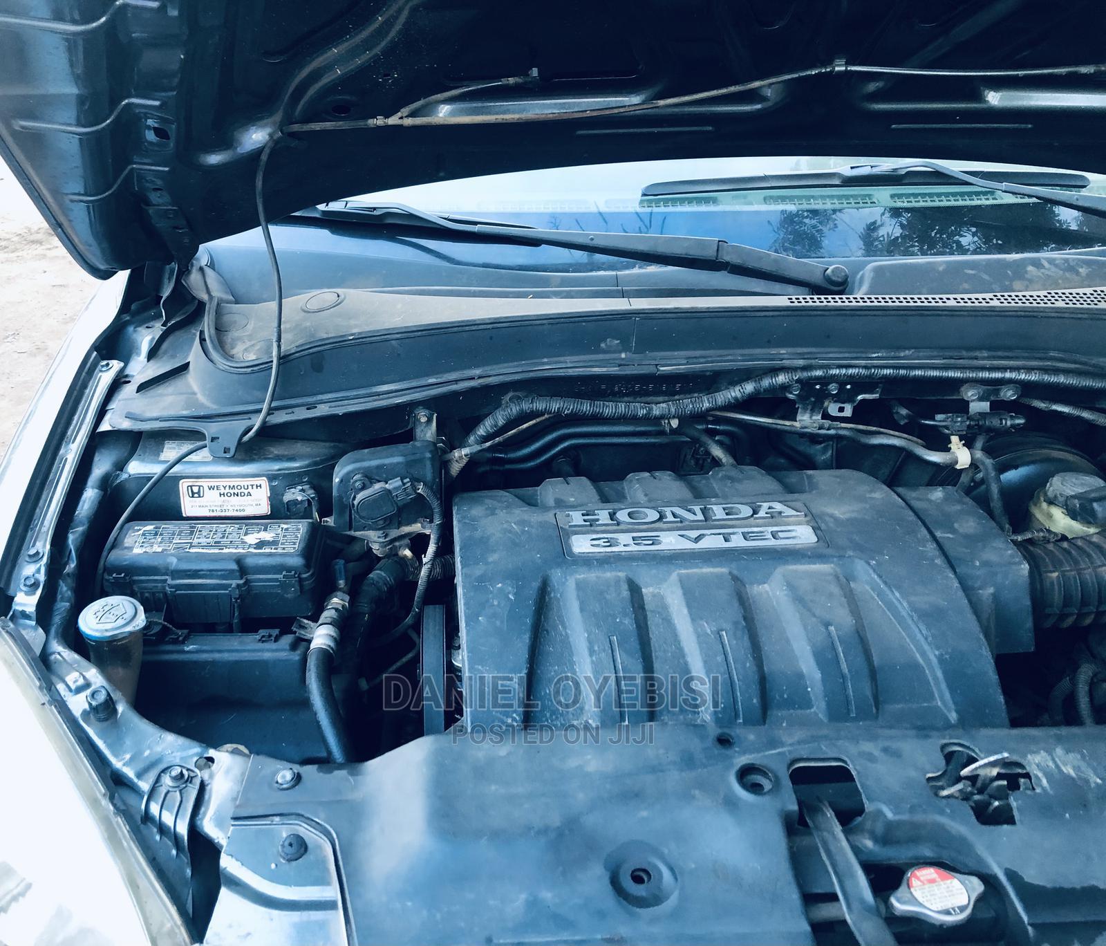 Honda Pilot 2004 LX 4x4 (3.5L 6cyl 5A) Gray   Cars for sale in Ibadan, Oyo State, Nigeria