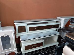 Tampered Glass Top Center Table and TV STAND | Furniture for sale in Lagos State, Ojo