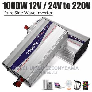 1set LED Display 1000W Pure Sine Wave Power Inverter 12v/ | Solar Energy for sale in Kwara State, Ilorin West