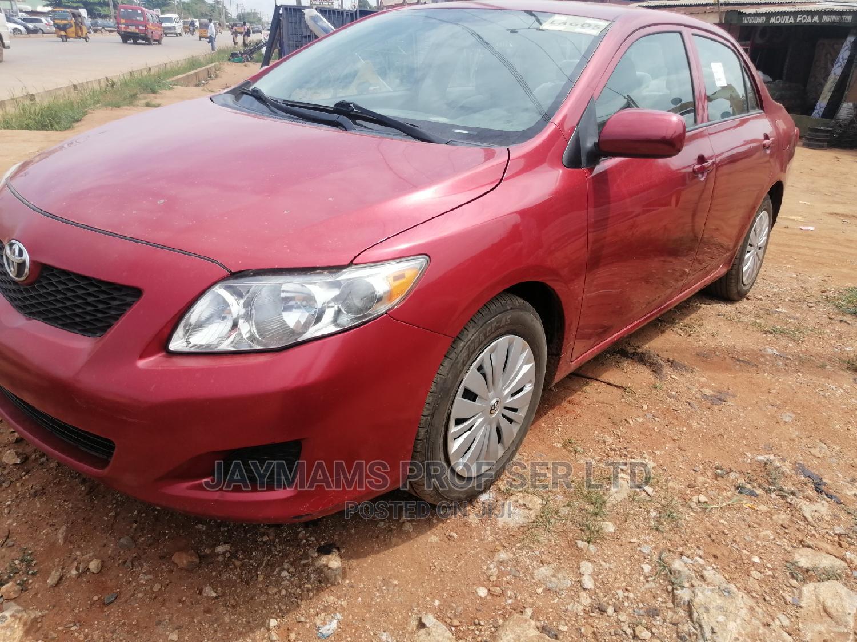 Toyota Corolla 2010 Red | Cars for sale in Ikorodu, Lagos State, Nigeria