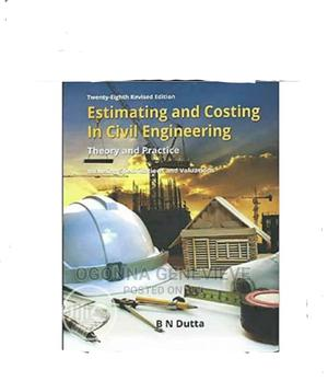 Estimating and Costing in Civil Engineering 25th Edition | Books & Games for sale in Lagos State, Yaba