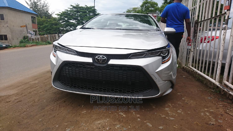 Toyota Corolla 2020 LE Silver