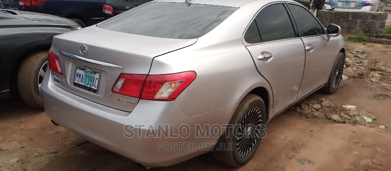 Archive: Lexus ES 2011 350 Silver