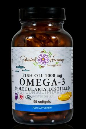 Botanical Farmony Fish Oil 1000mg Omega-3 X 90 | Vitamins & Supplements for sale in Lagos State, Surulere