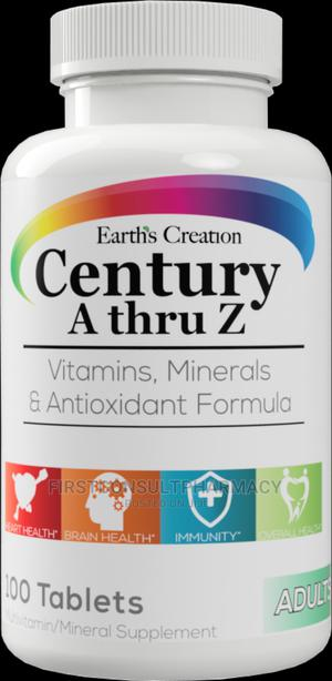 Earth's Creation Century a Thru Z Vitamins X 100 | Vitamins & Supplements for sale in Lagos State, Surulere