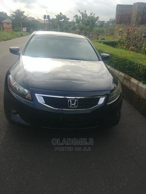 Honda Accord 2008 Coupe 3.5 EX-L Black | Cars for sale in Ondo State, Akure