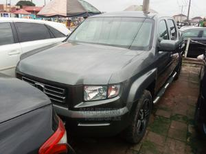 Honda Ridgeline 2008 RTL Gray | Cars for sale in Lagos State, Isolo