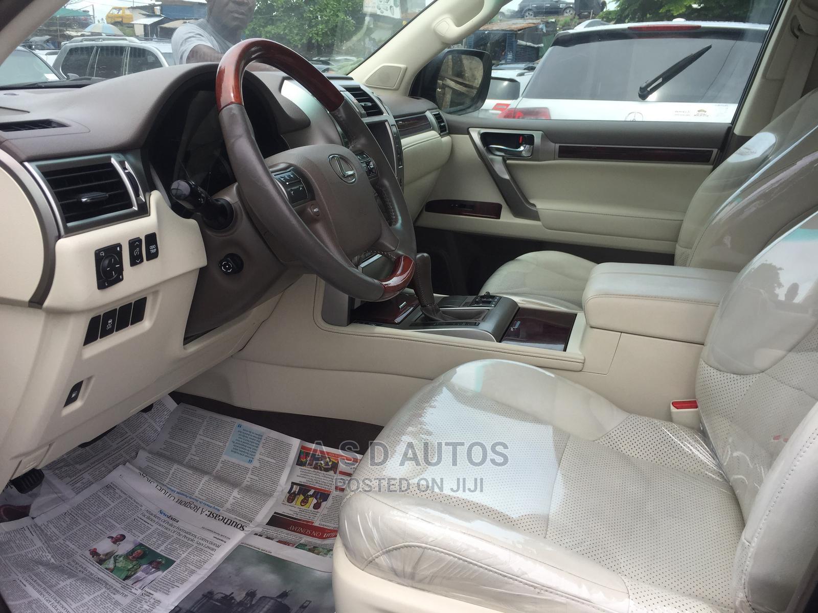 Lexus GX 2012 460 Red | Cars for sale in Amuwo-Odofin, Lagos State, Nigeria
