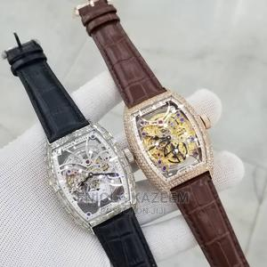 Quality Designer Ice Leather Wristwatches Frank Muller | Watches for sale in Lagos State, Lagos Island (Eko)