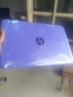 Laptop HP Stream 14 4GB Intel Celeron SSD 32GB   Laptops & Computers for sale in Lagos State, Ikeja