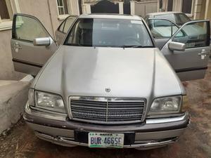 Mercedes-Benz C-Class 2000 C 180 (S202) Silver | Cars for sale in Edo State, Benin City
