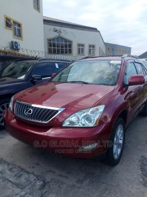 Lexus RX 2009 350 4x4 Red | Cars for sale in Rivers State, Port-Harcourt