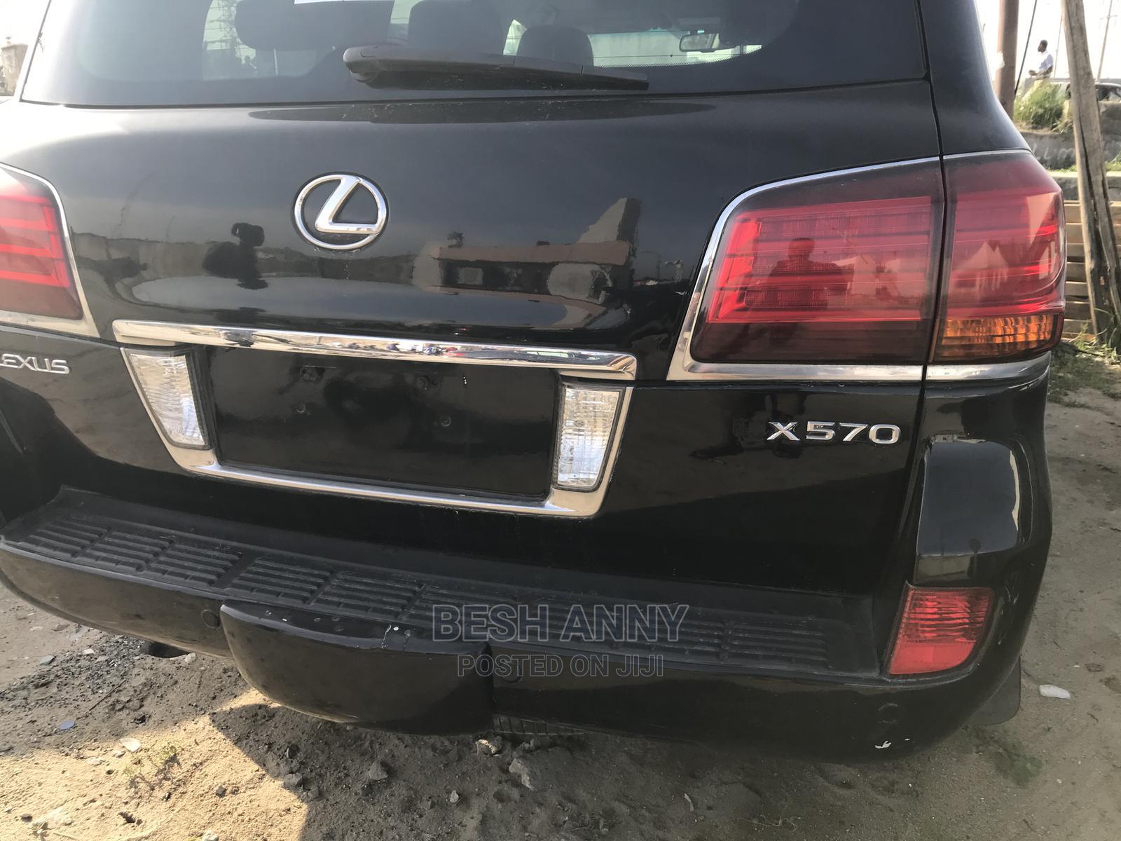 Archive: Lexus LX 2009 570 Black