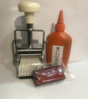 Manual Hand Operated Ink Date Stamp Coding Machine   Manufacturing Equipment for sale in Lagos State, Ojo