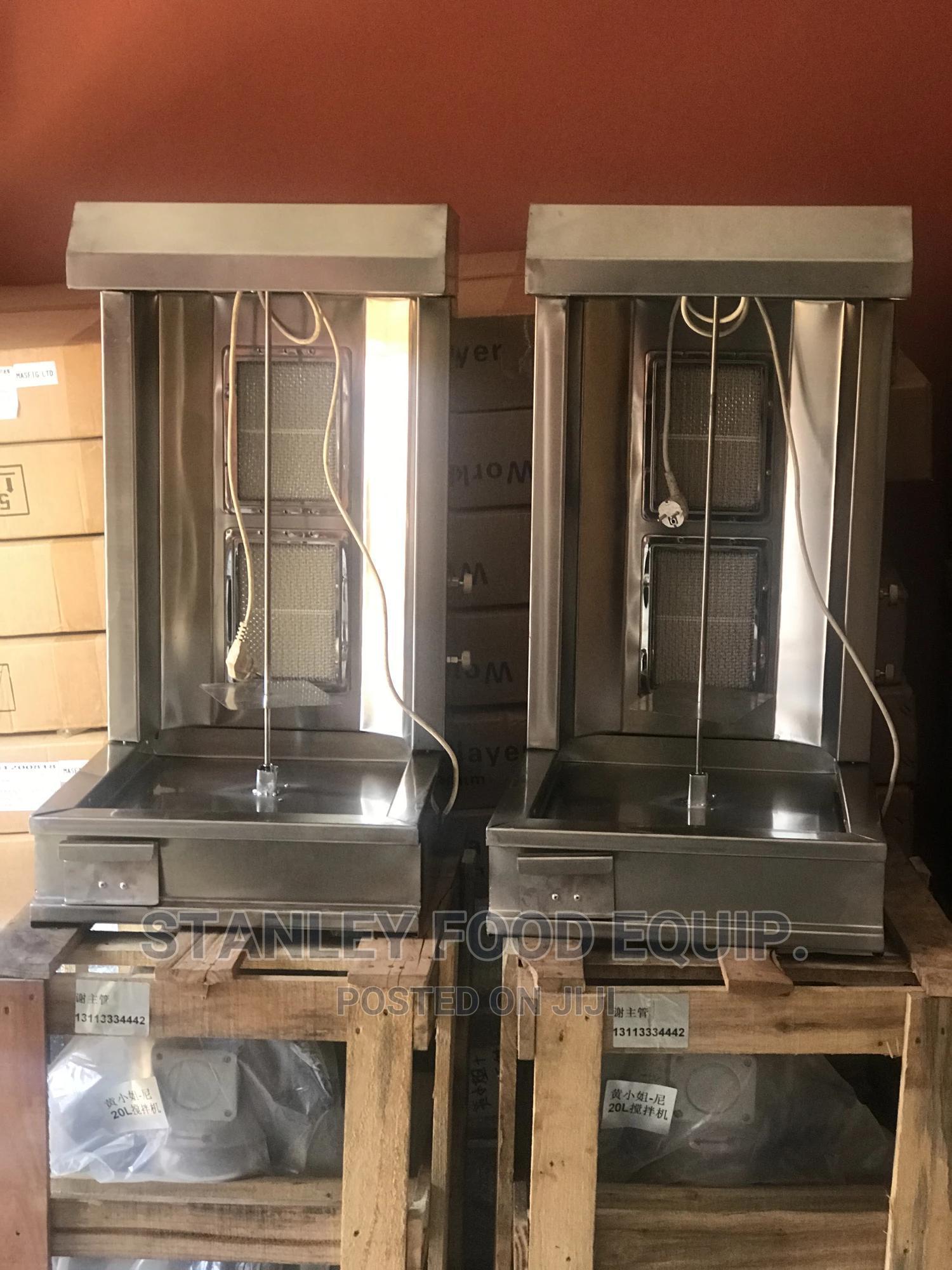 Toaster Grill and Shawarma Machine