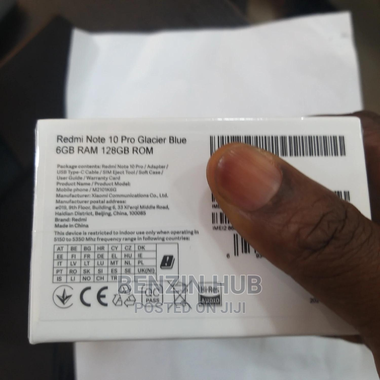 New Xiaomi Redmi Note 10 Pro 128 GB   Mobile Phones for sale in Ikeja, Lagos State, Nigeria