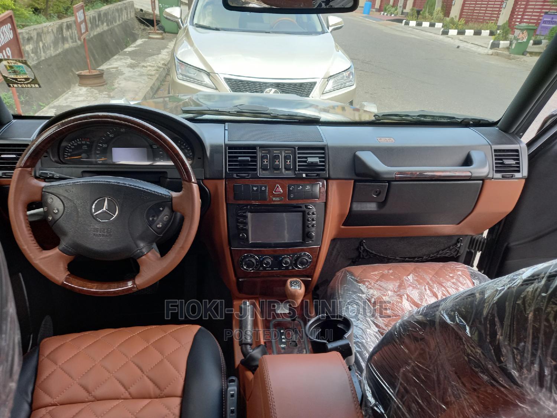 Archive: Mercedes-Benz G-Class 2006 Black