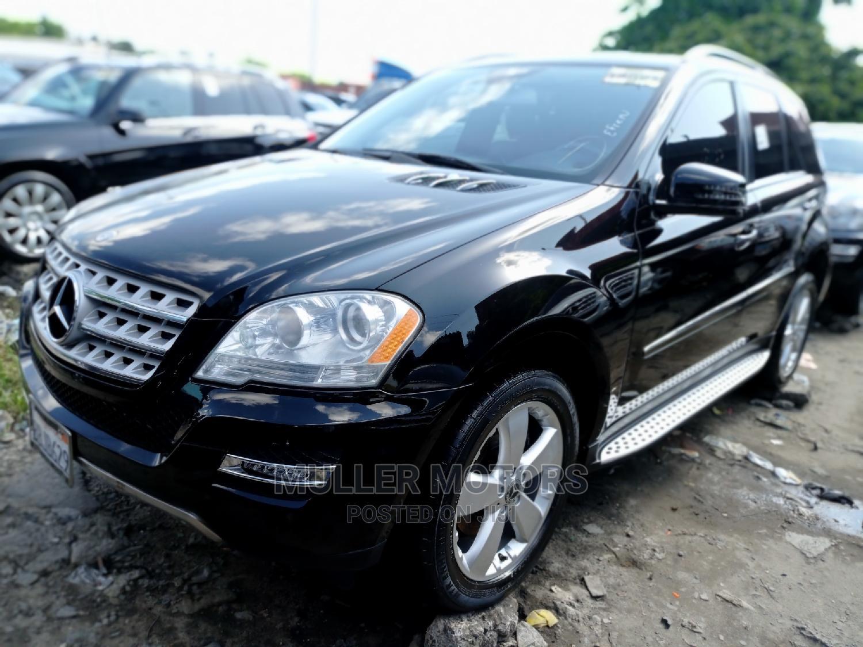 Mercedes-Benz M Class 2011 ML 350 4Matic Black | Cars for sale in Apapa, Lagos State, Nigeria