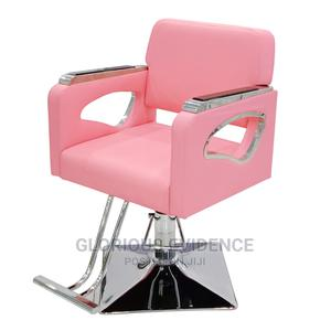 Classic Salon Chair (Pink) 7045 | Salon Equipment for sale in Lagos State, Surulere