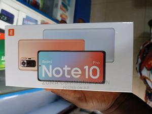 New Xiaomi Redmi Note 10 Pro 128 GB Black | Mobile Phones for sale in Lagos State, Ikeja
