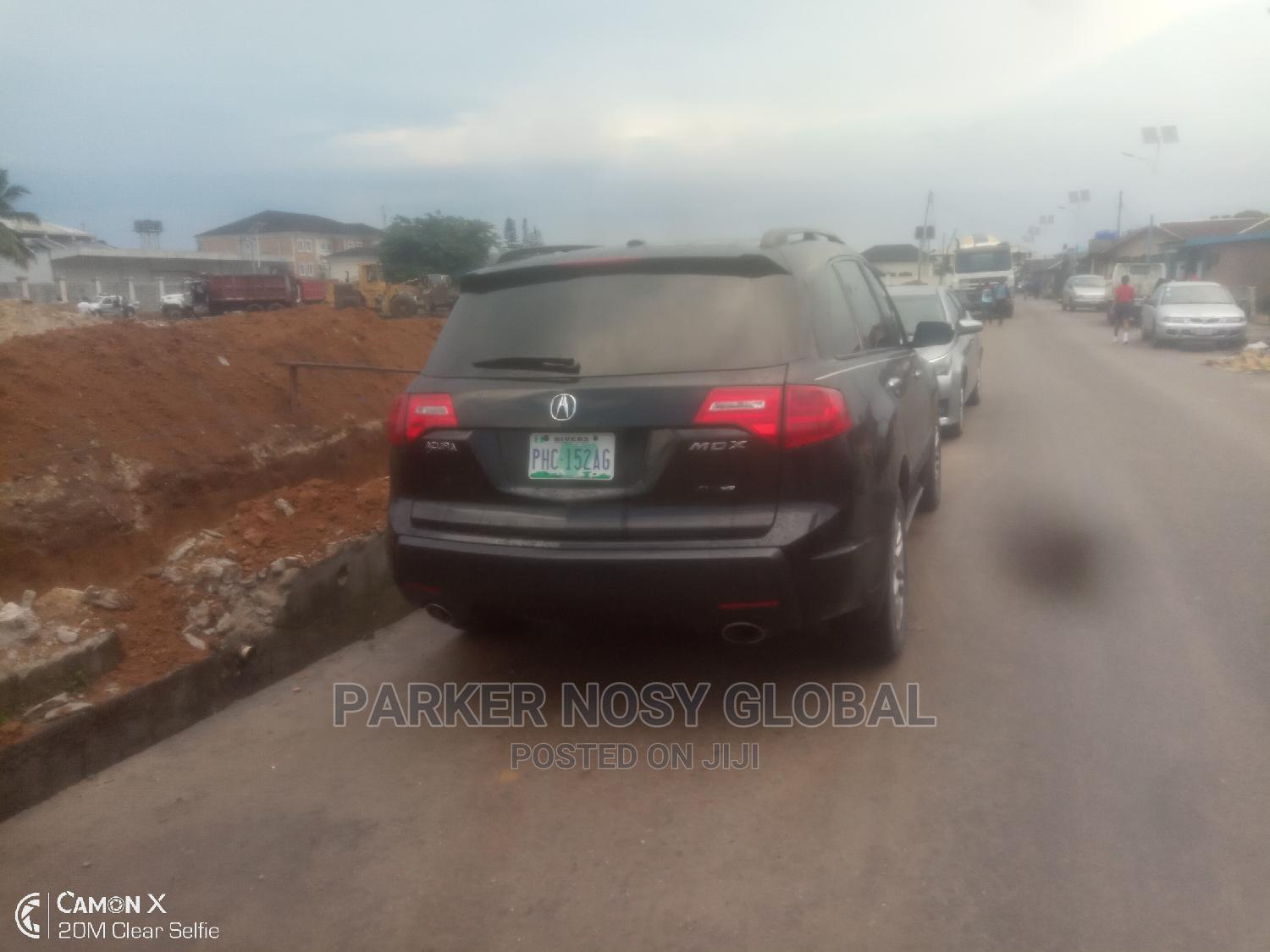 Acura MDX 2007 Black | Cars for sale in Port-Harcourt, Rivers State, Nigeria