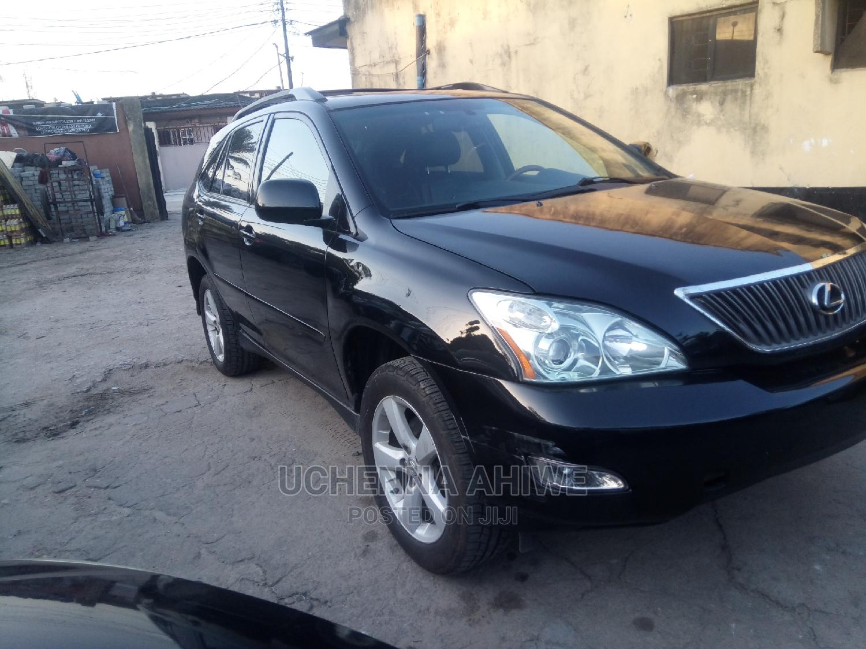 Lexus RX 2007 350 Black | Cars for sale in Surulere, Lagos State, Nigeria