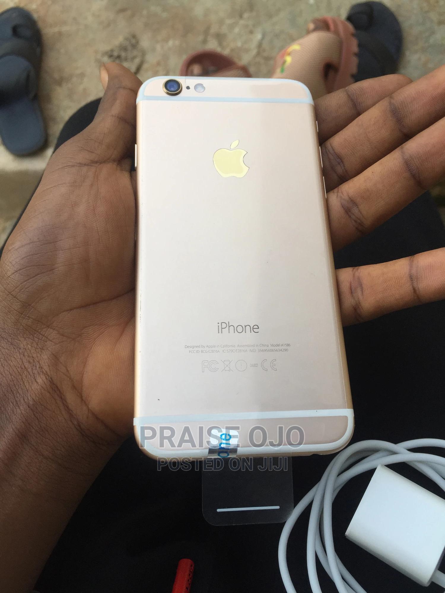 Apple iPhone 6 16 GB Gold | Mobile Phones for sale in Ikorodu, Lagos State, Nigeria