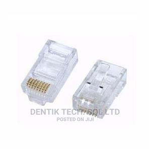 RJ 45 CAT 5e Cable Connector - 50 Pieces | Accessories & Supplies for Electronics for sale in Lagos State, Ikeja