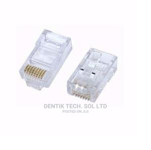 RJ 45 CAT 5e Cable Connector - 100 Pieces | Accessories & Supplies for Electronics for sale in Lagos State, Ikeja