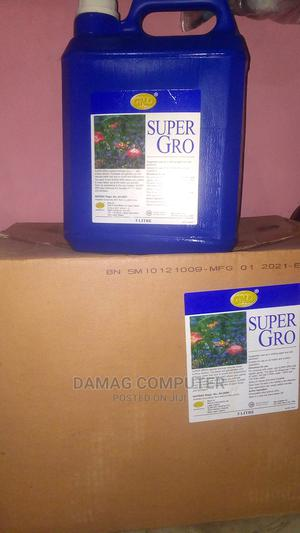 5 Litre Super Gro Organic Fertilizer | Feeds, Supplements & Seeds for sale in Oyo State, Ibadan