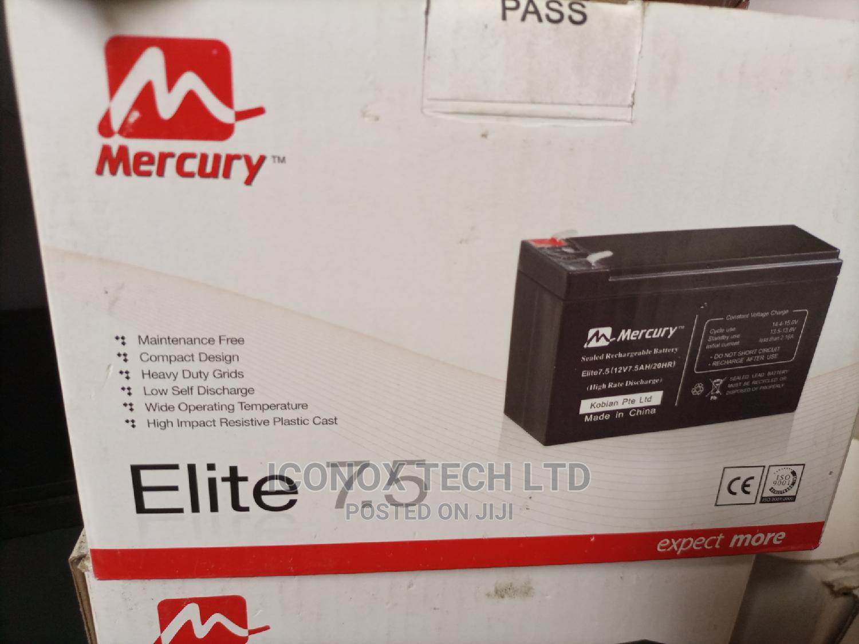 Mercury UPS Replacement Battery 7.5ah 12V
