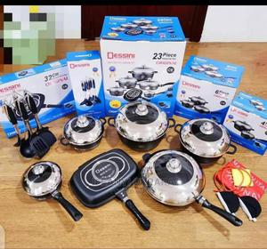 DESSINI 23 Pic Nonstick Pot and Grill | Kitchen & Dining for sale in Lagos State, Lagos Island (Eko)