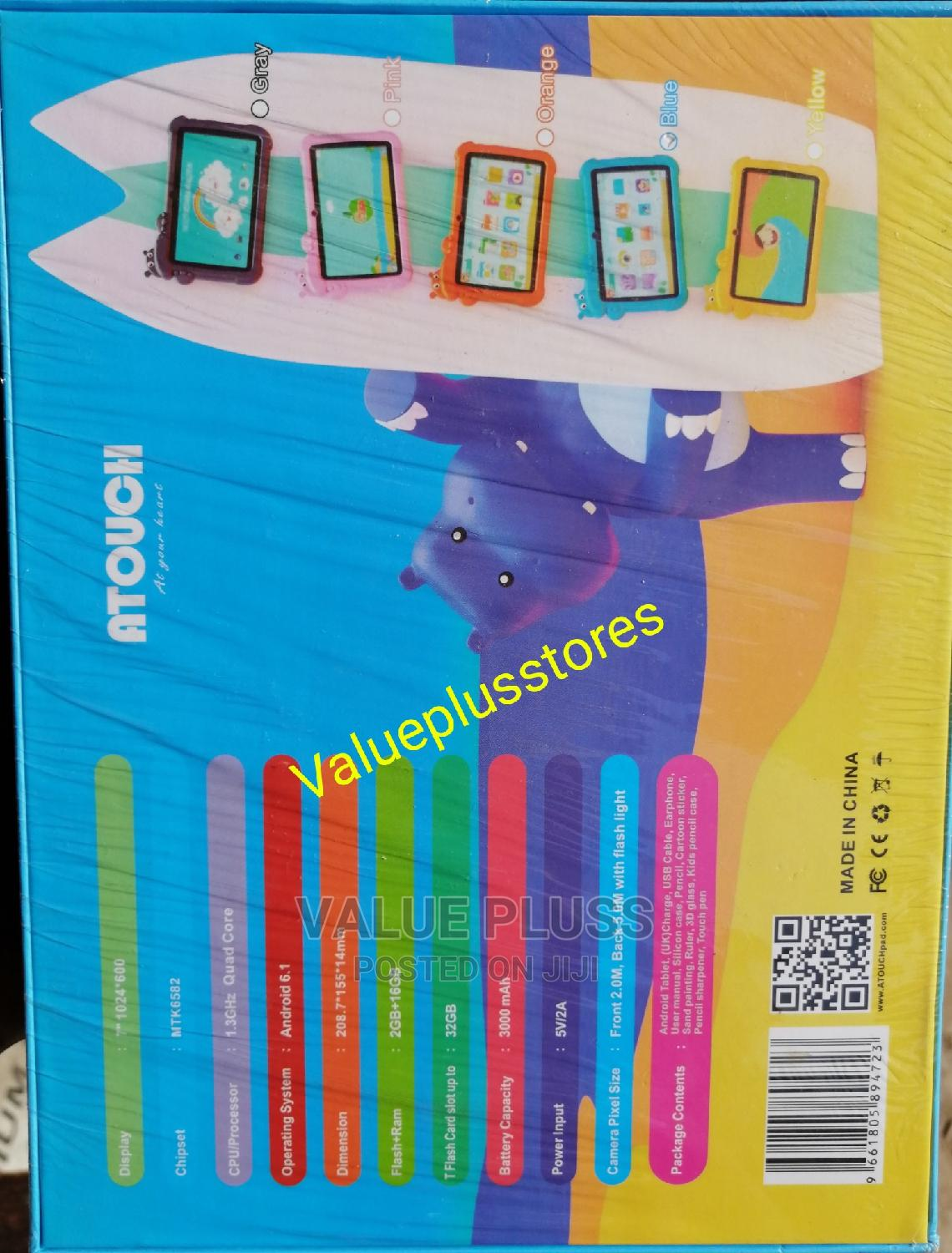 Archive: Atouch K91 Educational Toy/Tablet