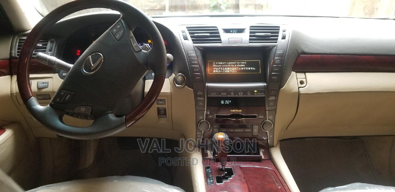 Lexus LS 2009 460 L Black | Cars for sale in Onitsha, Anambra State, Nigeria