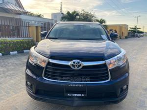 Toyota Highlander 2015 Blue   Cars for sale in Lagos State, Lekki