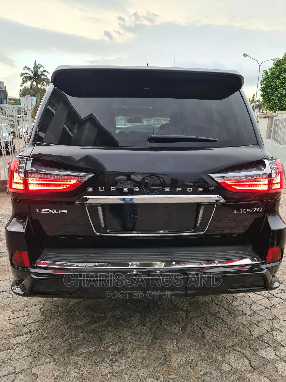 Lexus LX 2012 570 Black | Cars for sale in Garki 2, Abuja (FCT) State, Nigeria