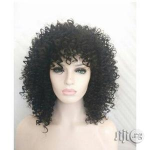 Human Hair Wig Curly Wig | Hair Beauty for sale in Plateau State, Jos