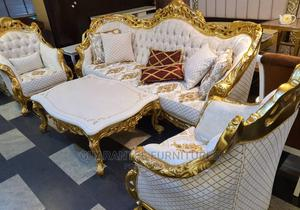 Original Royal Sofa With Centre Table   Furniture for sale in Lagos State, Victoria Island