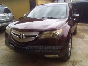 Acura MDX 2008 SUV 4dr AWD (3.7 6cyl 5A) Red | Cars for sale in Lagos State, Ikeja