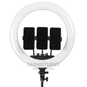 18-Inch LED Ring Light With Remote Control | Accessories & Supplies for Electronics for sale in Lagos State, Alimosho